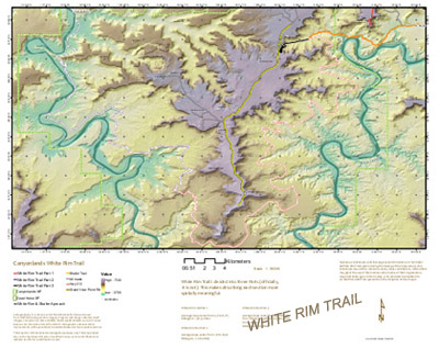 White Rim Trail Map