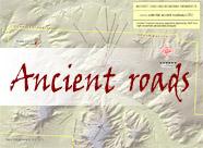 Ancient Roadways Map