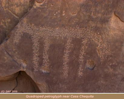 Quadruped Petroglyph