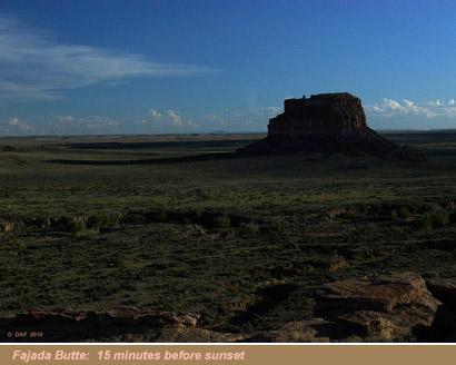 Fajada Butte Sunset View 3