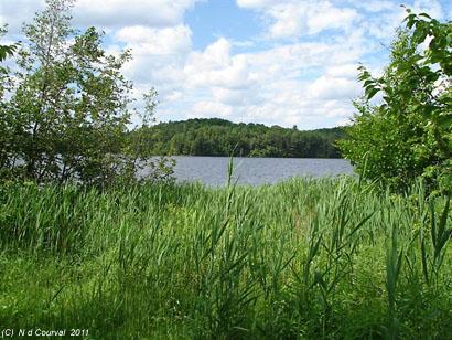 Lake Stukely, Mont Orford National Park, Quebec
