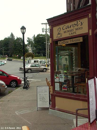 Carols Cafe, Middlebury, Vermont
