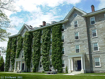 Middlebury College historical building