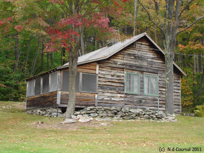 Breadloaf School of English, Robert Frost's cabin